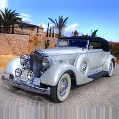1934 Packard Convertible Victoria..Re-pin...Brought to you by #CarInsuranceAgents at #HouseofInsurance in Eugene, Oregon