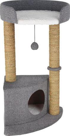 Two-Tier Cat Scratch Corner Post. in Pet Supplies, Cat Supplies, Furniture & Scr. Two-Tier Cat Scratch Corner Post. in Pet Supplies, Cat Supplies, Furniture & Scratchers Diy Cat Scratching Post, Pet Furniture, Corner Furniture, Furniture Buyers, Cat Towers, Cat Stands, Cat Playground, Cat Scratcher, Cat Accessories