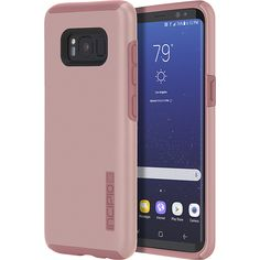 Shop Incipio DualPro Case for Samsung Galaxy Iridescent rose gold at Best Buy. Find low everyday prices and buy online for delivery or in-store pick-up. Samsung Galaxy S8 Features, Samsung Galaxy 8, Wallpaper S8, Email Gift Cards, S8 Plus, New Phones, Cover Design, Galaxies, Cool Things To Buy