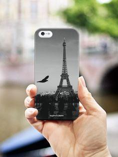 Inspired Cases Paris Eiffel Tower Black & White Photo Case #travel #explore #eiffeltower #paris #noir