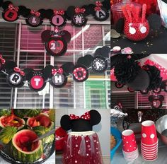 Minnie Mouse party for 2 year Birthday