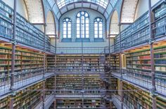 Rijksmusuem Library in Amsterdam, The Netherlands by Richard Silver on 500px