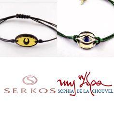Les macrame s bracelets de Serkos jewelry pour myhydrasophiadelachouvel au Yacht Club de Monaco