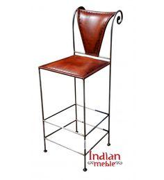 Indyjskie #krzesła barowe w stylu loftowym. :D Stwórz bar w domu albo zaaranżuj pub w stylowy sposób! :) Na zdjęciach: ✪ Krzesło 1: http://www.indianmeble.pl/krezla/Krzeslo-barowe-IMKRZE23 ✪ Krzesło 2: http://www.indianmeble.pl/krezla/indyjskie-metalowe-krzeslo-barowe-HS-68-IMKRZe49