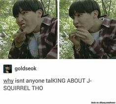 Well if hobi means squirrel,and hobi means sunshine, then sunshine means squirrel... that'll be awkward