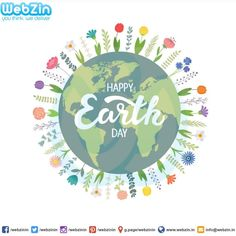 Planting trees is the best day of spreading love prosperity and harmony. Let us all work together to take care of Mother Earth with lots of love.Webzin Infotech Wishing you Happy Earth Day. Earth Day Posters, Happy Earth, Spread Love, Mother Earth, Trees To Plant, Are You Happy, Vector Free, Banner, Concept