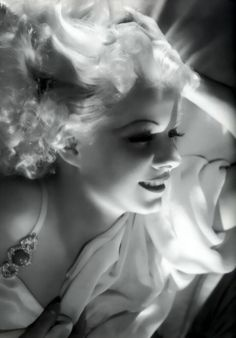Jean Harlow- died of renal failure during the filming of Saratoga in 1937 at the age of 26. The film was completed using doubles and released a little over a month after Harlow's death.