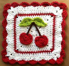 Transcendent Crochet a Solid Granny Square Ideas. Inconceivable Crochet a Solid Granny Square Ideas. Crochet Square Pattern, Crochet Potholder Patterns, Crochet Dishcloths, Crochet Blocks, Crochet Squares, Crochet Granny, Filet Crochet, Crochet Motif, Granny Squares