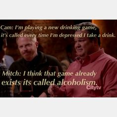 Modern Family, Cam and Mitch conversation. Funny! All rights belong to the show I only highlighted a funny moment in the episode as it made me laugh.