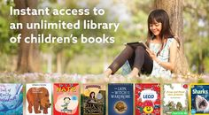 Instant access to thousands of great kids books. FREE for Elementary School Teachers and Librarians! AWESOME!