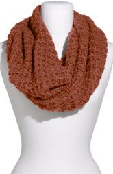 I'm obsessed with infinity scarves. this color is perfect with jeans, boots, a plain tee and ponytail!