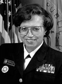 Audrey Forbes Manley (born March 25, 1934) was appointed acting Surgeon General of the U.S. 1995-1997. From 1997 to 2002 she served as President of Spelman College. She was the first alumna to be elected president of the college, carrying on the legacy of her husband Dr. Albert E. Manley, who was the first African-American and male president of Spelman College from 1953 to 1976. She received a B.A. from Spelman College in 1955 and graduated from Meharry Medical College.