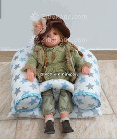 آموزش دوخت سیسمونی نوزاد الگو رو یکبار روی دولای صفحه 288 - زیباکده Baby Car Seats, Children, Style, Fashion, Young Children, Swag, Moda, Boys, Fashion Styles