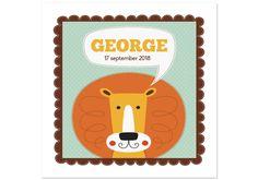 Geboortekaartje George -Kaartjes en Co