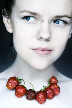 Strawberries  by ~freeminds