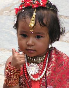 newari girl   - Explore the World with Travel Nerd Nici, one Country at a Time. http://TravelNerdNici.com