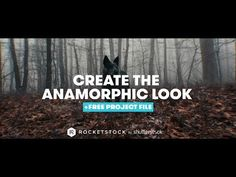 In this After Effects video tutorial, learn how you can create a cinematic anamorphic-inspired look. With free project files!