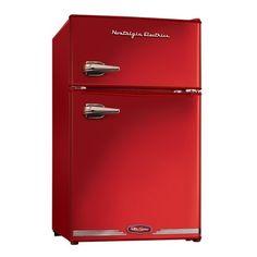 Frigobar RETRÔ com freezer - 84 litros