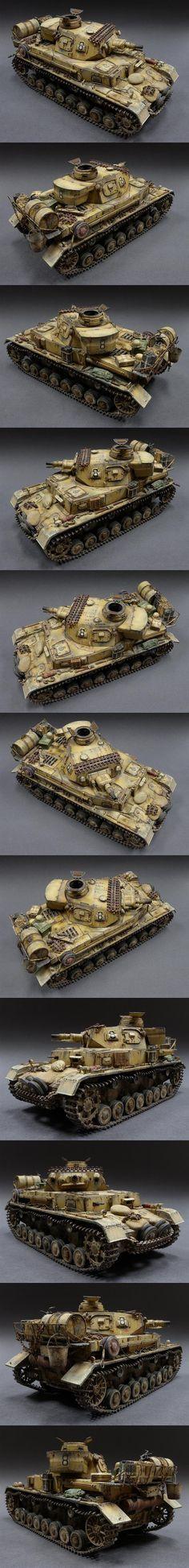 Freaking awesome! Pz. Kpfw. IV Ausf.E., DAK