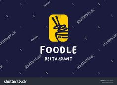 Find Linear Logo Ramen Taste Asian Noodle stock images in HD and millions of other royalty-free stock photos, illustrations and vectors in the Shutterstock collection. Vector Logo Design, Logo Design Template, Logo Templates, Logo Branding, Branding Design, Asian Noodles, Logo Restaurant, Great Logos, Typography