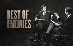 'Best Of Enemies' Trailer and Official Poster | Participant Media