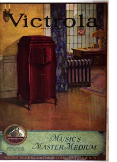 An advertisement for a Victrola in Life, Vol. 80, 1922.