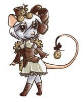 Steam punk Rat by CatsCowCow
