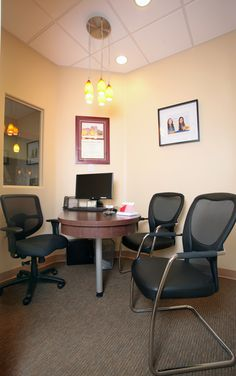 A+ Family Dentistry Consultation Room. www.aplusfamilydentistry.com