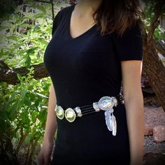 Dropbox - Stunning black hair pipe bone belt, with replicas of old Navajo conchos and sterling feathers . Navajo, Feathers, Black Hair, Bones, Belt, Accessories, Jewelry, Fashion, Hair Black Hair