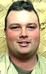 """Army SPC Ray M. Fuhrmann II, 28, of Novato, California. Died August 18, 2005, serving during Operation Iraqi Freedom. Assigned to 3rd Bn, 69th Armor Regt, 1st Brigade Combat Team, 3rd Inf Div, Ft Stewart, GA. Died of injuries sustained when an improvised explosive device detonated near his vehicle after a mine-assessment mission in Samarra, Iraq. (RECIPIENT OF SILVER STAR """"FOR CONSPICUOUS GALLANTRY AND INTREPIDITY IN ACTION"""" Mar 22, 2005 for giving medical aid to comrades under enemy fire)"""