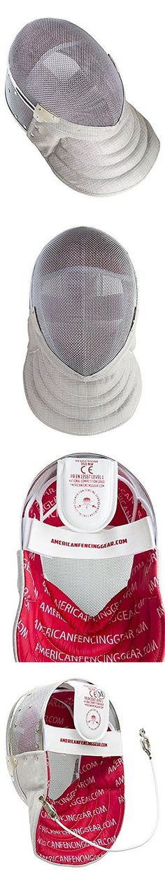 Fencing 47322: Fencing Sabre Mask Ce350n Certified National Grade Including Head Wire (Mask Cor -> BUY IT NOW ONLY: $81.24 on eBay!