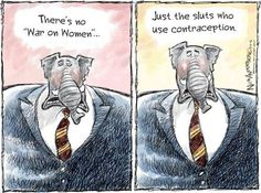 war on women - vote the radical right republicans OUT !!  Roe v Wade depends on it.,