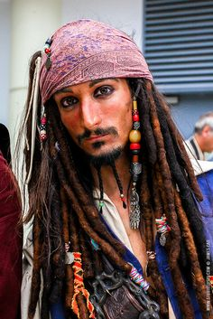 Captain Jack Sparrow cosplay - Japan Expo 2014 #Pirate