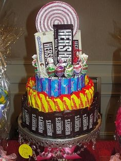 Candy Cake, something like this for me and my paras at the end of SC-Alt!! the four of us deserve it!