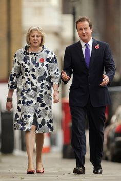 Pin for Later: British Prime Minster Theresa May Has a Style Mantra For All Power Women And One Full of Florals, Too Mature Fashion, Fashion Over 50, Teresa May, Carol Kirkwood, British Prime Ministers, Advanced Style, Celebs, Celebrities, Womens Fashion