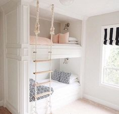 Great built in bunks