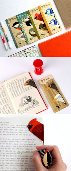 6956b8dd29e0 The Bird Magnetic Bookmark Pen is a really unique