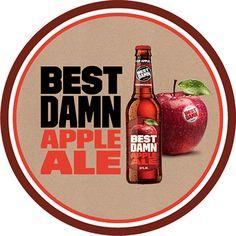 BEST DAMN Apple Ale Badge