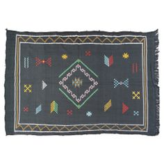 """Moroccan Cactus Silk Rug, 6'4"""" x 3'10"""" from TheMoroccanRoom - Hunters Alley"""