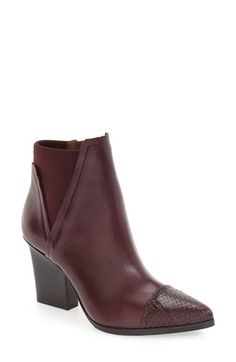 Free shipping and returns on Donald J Pliner 'Vaughn' Pointy Toe Bootie (Women)…