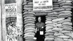 Perfumeria Alvarez Gomez in Madrid during the Spanish Civil War