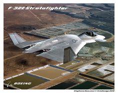 Boeing F-32E Stratofighter by Bispro.deviantart.com on @DeviantArt