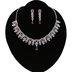 Wedding Jewellery Designs, Wedding Designs, Wedding Jewelry, Jewelry Design, Jewelry Art, Indian Jewelry Sets, South Indian Jewellery, American Diamond Jewellery, Diamond Jewelry