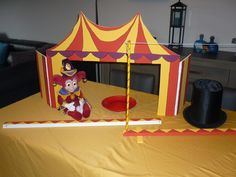 circus. Juf Tess