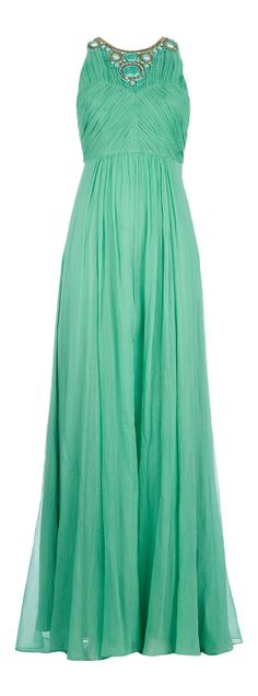 Mint gown / matthew williamson