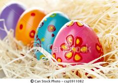 Stock Photo - Easter eggs - stock image, images, royalty free photo, stock photos, stock photograph, stock photographs, picture, pictures, graphic, graphics