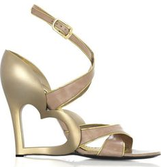 Awesome heart shoes