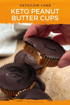 There's nothing like a classic Reese's peanut butter cup. The combination of peanut butter and chocolate with sugary sweetness balancing the flavors is such a heavenly treat. Unfortunately, as with most commercial candies, health was an afterthought when they picked the ingredients. This is why it is best to make them yourself to get your chocolate peanut butter fix. #ketodesserts #peanutbuttercups #peanutbutter #chocolate #ketogenic Ketogenic Desserts, Low Carb Desserts, Frozen Desserts, Keto Snacks, Healthy Desserts, Dessert Recipes, Healthy Baking, Ketogenic Diet, Healthy Peanut Butter