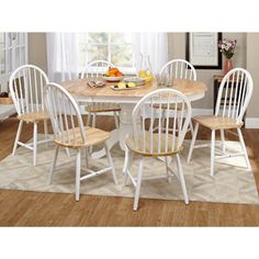Overstock farmhouse dining set will add a touch of for International seating and decor windsor