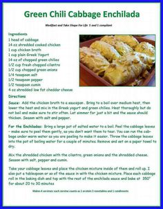 Lean and Green Medifast Recipes, Bariatric Recipes, Ww Recipes, Mexican Food Recipes, Low Carb Recipes, Cooking Recipes, Healthy Recipes, Mexican Menu, Mexican Dishes